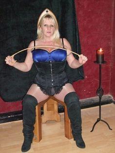 Mistress Nadine on her throne