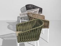 Braided Outdoor Furniture by Rodolfo Dordoni for Kettal