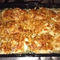 Borzas Csirkemell Lasagna, Macaroni And Cheese, Ethnic Recipes, Food, Chicken, Mac And Cheese, Essen, Meals, Yemek