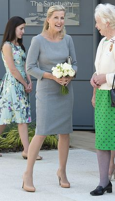 The Countess of Wessex opened the Sanctuary, September 10, 2014.