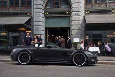 Matte Black SLS Convertible