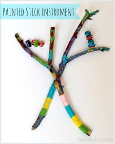 Learn how to make this beautiful painted stick instrument based on an Egyptian…