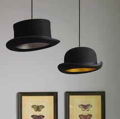 Top hat lighting, so sweet!