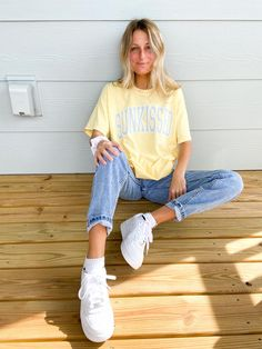 Casual School Outfits, Trendy Summer Outfits, Cute Comfy Outfits, Basic Outfits, Teen Fashion Outfits, Retro Outfits, Mode Outfits, Stylish Outfits, Spring School Outfits