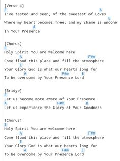 Holy Spirit (2) Ukulele Worship Songs, Worship Chords, Easy Guitar Songs, Guitar Chords For Songs, Music Chords, Lyrics And Chords, Ukulele Songs, Piano Songs, Music Guitar