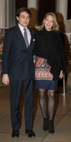 Marie-Christine of Austria and Rudolphe de Limburg-Stirum. Grand Duke Jean celebrated his 95the birthday in the presence of his children, grandchildren and great-grandchildren. 9-1-2016