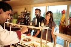 Kulinarische Spezialitäten mit Live-Cooking