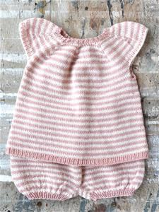 Ida - Top og Bloomers i Bøllefrø Baby Outfits, Kids Outfits, Baby Knitting, Dyi, Baby Gifts, Knitting Patterns, Knit Crochet, Children, Girls