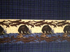 Bear Country Fabric designed by Granola Girl by KoopsKountryKalico, $9.99