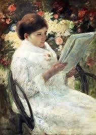 Resultado de imagen de quadres dones llegint