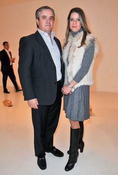 Carlos y Karina Greenham