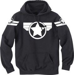 Super Soldier Hoodie - Captain America