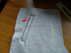 Мастер-класс: карман на трикотажных брюках