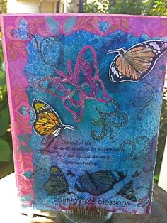 Butterfly Inspired Wall Art