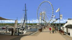 Maryland's National Harbor is adding a new 175-foot Ferris wheel with views of the nation's capital & Potomac River, similar to London Eye & other large-scale observation wheels around the world. The $15 million dollar, 17-story Capital Wheel will debut in May. The attraction will include 42 gondolas with sound systems, heating & air conditioning. Will operate year-round & attract 600,000 to 800,000 visitors each year.