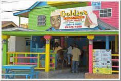 Goldie's Conch House. Want to try the conch salad and conch fritters!