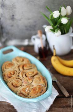 Rezept für Bananen Zimtschnecken
