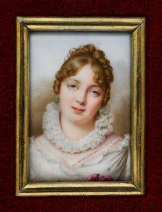Miniature of Maria Walewska by Marie-Victoire Jaquotot, 1811, Muzeum Narodowe w Warszawie (MNW)