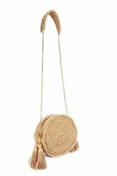 Round juta cord bag crochet tasseled handbag summer tote circular purse circle bags custom madeChina Mochila (on-line / MK) - Tudo em azhure . Crochet Clutch, Crochet Handbags, Crochet Purses, Crochet Bags, Love Crochet, Knit Crochet, Macrame Bag, Custom Bags, Knitted Bags