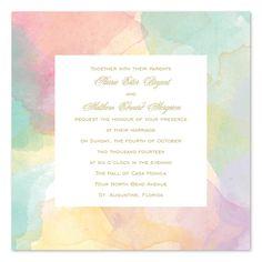 Frame-Worthy Wedding Invitations