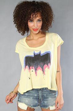 $28 The Batman Crew Tee by Junkfood Clothing at karmaloop.com - Use repcode SMARTCANUCKS at the checkout for an extra 20% OFF on Karmaloop.com