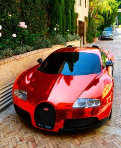 Bugatti. I love this car. This is why I must become a millionaire.