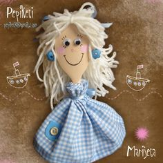 Marijeta - lovely wooden spoon doll