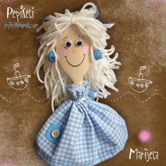 Marijeta - lovely wooden spoon doll