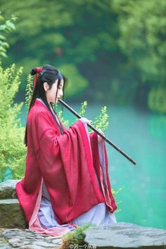 My Asian Favorit Hanfu, Manequin, China Girl, Chinese Clothing, Chinese Culture, World Cultures, Chinese Style, Asian Fashion, Hippie Fashion