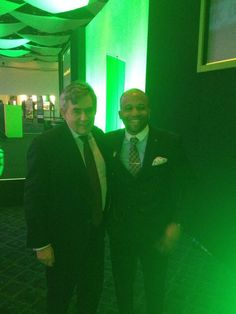 Twitter / _KevinGeorge: Gordon Brown and I at the #KIO ...