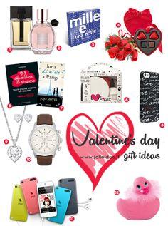 Regali San Valentino 2014 / Valentine's Day Gift Ideas - Idee regalo per lui e per lei #sanvalentino2014 #valentinesday #regaloperfetto