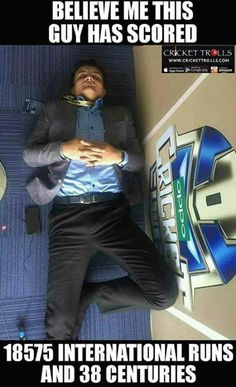 Sourav Ganguly clicked while sleeping :) For more cricket fun click: http://ift.tt/2gY9BIZ - http://ift.tt/1ZZ3e4d