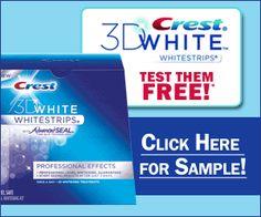 Free Crest White strips - Coupon Nurse