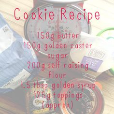 Utterly) Yummy Easy Peasy Cookies
