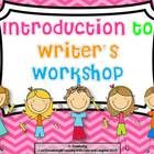 This product will help you launch your Writer's Workshop program. Please note that this product is an introduction to Writer's Workshop and is not ...