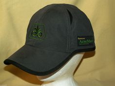 PIONEER HAT BASEBALL BALL CAP OPTIMUM ACRE MAX 1 INSECT PROTECTION DUPONT VELCRO #PioneerDuPont