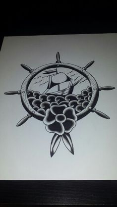 Sailor 2 flash tattoo