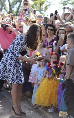 Kate Middleton in Diane von Furstenberg dress