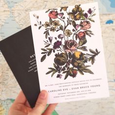 Hello Tenfold wedding invitations