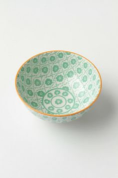 Atom Art Bowl - Anthropologie $8.00 #Anthropologie #AtomArtBowl