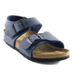 buy popular d8bd4 41fbe 736A BIRKENSTOCK NEW YORK KINDER MARINE www.ouistiti.shoes le spécialiste  internet de la