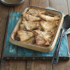 Healthier Bread and Butter Pudding, a delicious recipe from the new M&S app.