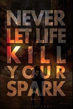 I freakin love this quote. This comes from Crown The Empire's song The One You Feed on their album The Fallout.