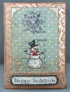 Scraps From A Broad: Happy Holidays