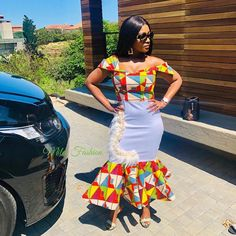 """Ayanda Miles Richmond on Instagram: """"#Miles (f)_sa"""" African Dresses For Kids, African Outfits, Latest African Fashion Dresses, African Print Fashion, African Attire, African Wear, Venda Traditional Attire, African Traditional Wear, African Traditional Wedding Dress"""