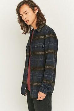 Shore Leave by Urban Outfitters Navy Stripe Shirt