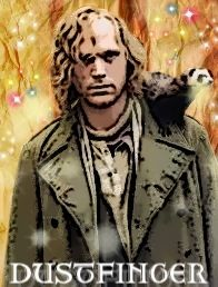 Dustfinger from Inkheart :) On my Top 10 list of Fictional Boyfriends/Husbands!