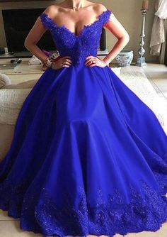 royal blue prom dress by olesaweddingdresses, $174.94 USD Royal Blue Prom Dresses, Sexy Dresses, Evening Dresses, Fashion Dresses, Formal Dresses, Party Dresses, Chromatic Aberration, Wedding Veil, Ball Gowns