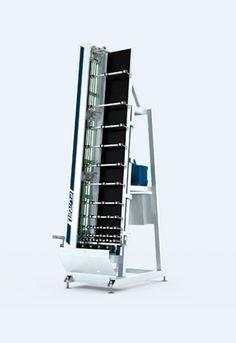 aplicador-de-corchos-automatico.   La aplicadora de corchos automática FOREL le permite la aplicación de estos corchos distanciadores a las unidades de doble acristalamiento de un modo automático.