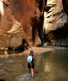 The World's Best Hiking Trails: The Narrows, Zion National Park, USA